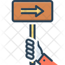 Sign Indication Hint Icon