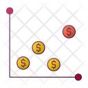 Sign Graph Money Icon
