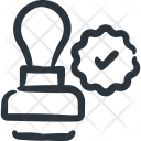 Sign Stamp Legal Icon