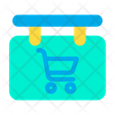 Cart Board Sign Icon