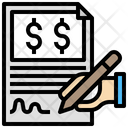 Sign Contract Icon