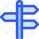 Map Navigation Sign Direction Icon