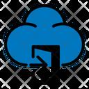 Sign In Door Cloud Icon