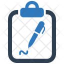 Sign On Contract Icon