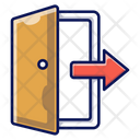 Sign Out Exit Leave Icon