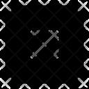 Up Right Right Arrow Icon