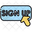 Sign Up Sign In Account Icon