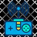 Remote Control Range Remote Control Signal Network Icon