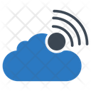 Signal Cloud Database Icon