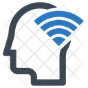 Head Signal Wifi Icon