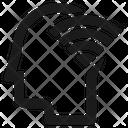 Head Signal Wifi Icon