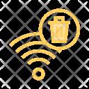 Signal Wifi Delete Icon