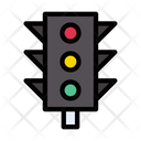 Signal Traffic Road Icon