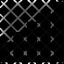 Connectivity Bar Mini Signal Network Icon