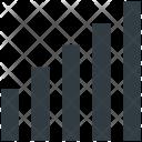Signal Strength Indicators Icon