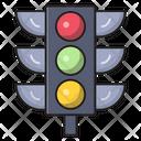 Signal Traffic Light Icon