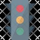 Signal Lights Traffic Control Traffic Lamp Icon
