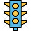 Signal Lights Traffic Lamps Traffic Lights Icon