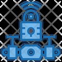 Signal Lock Drone Ai Icon