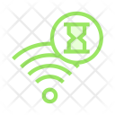 Signal Hourglass Timer Icon