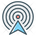 Wireless Antenna Connection Icon