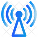 Signal Broadcast Communication Icon