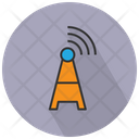 Broadcast Communication Tower Icon