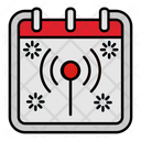 Signal Calendar Date Icon