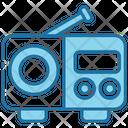 Radio Music Audio Icon