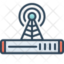 Signal Indication Technology Icon