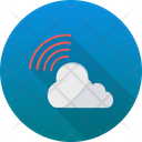 Signals Cloud Computing Cloud Network Icon