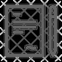Signature Legal Patent Icon
