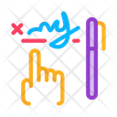 Handwriting Graphical Analysis Icon