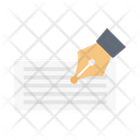 Signature Agreement Contract Icon