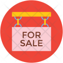 Signboard Sale Sign Icon