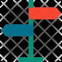 Signboard Signage Arrows Icon