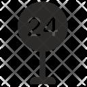 Road Sign Convenience Icon