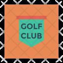 Signboard Board Golf Club Icon