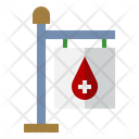 Signboard Location Clinic Icon