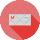Signed Cheque Payment Icon