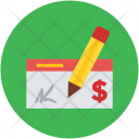 Signing check Icon