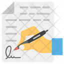 Agreement Contract Accord Icon