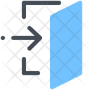 Signout Common Door Icon