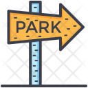 Park Signpost Guidepost Icon
