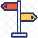 Signpost Adventure Camp Icon