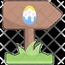 Arrow Egg Party Icon