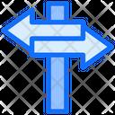 Signpost Arrow Direction Icon