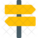 Signpost Object Direction Icon