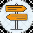 Signpost T Icon