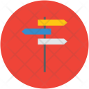 Signposts Directions Directional Icon